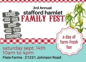 Stafford Hamlet Family Fest @ Fiala Farms